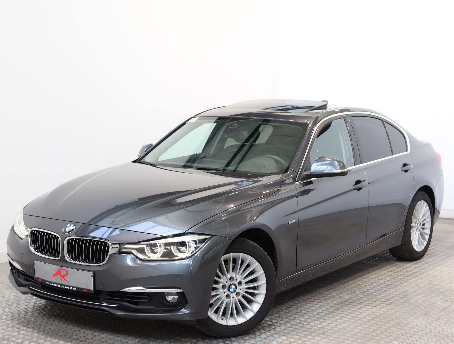 BMW 320 i SPORTSITZE,LED,HEADUP,NAVIPROF,KEYLESSGO, Jahr 2016, Benzin