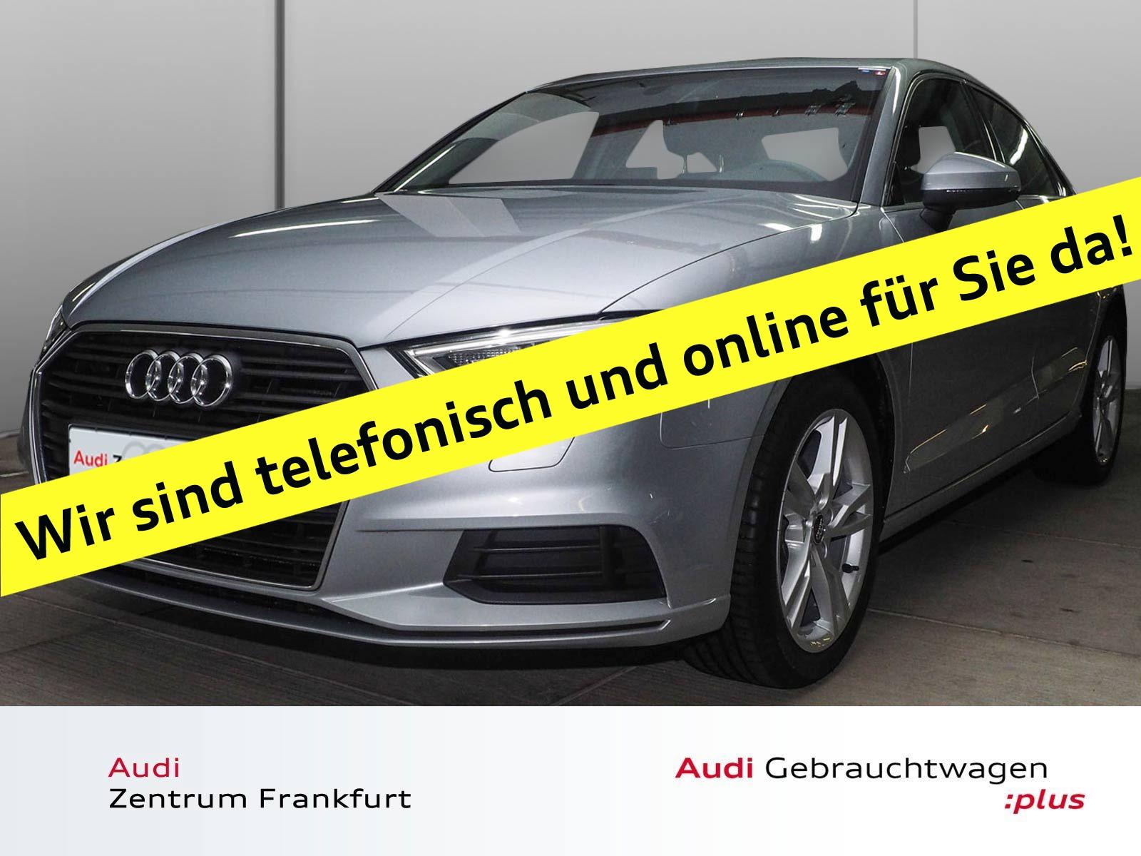 Audi A3 Limousine 30 TFSI Xenon PDC Sitzheizung Bluetooth Tempomat, Jahr 2018, Benzin