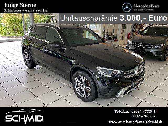 Mercedes-Benz GLC 200 4M High End Licht Easy Pack MBUX Exclusi, Jahr 2019, Benzin