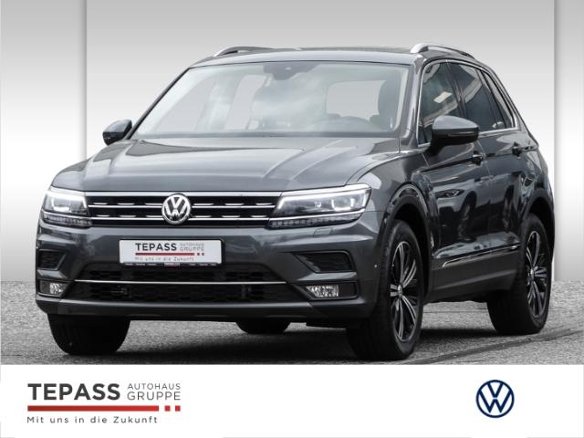 Volkswagen Tiguan 2.0 TSI Highline LED NAVI LEDER PANO KAMERA ACC, Jahr 2018, Benzin