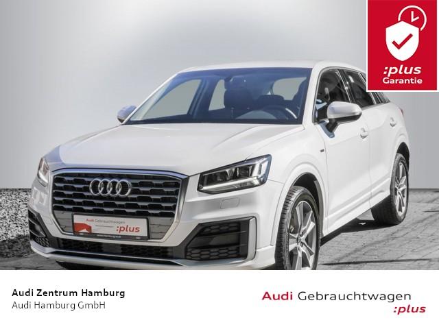 "Audi Q2 design 30 TFSI 6-Gang S LINE ALU 18"" LED NAVI, Jahr 2020, petrol"