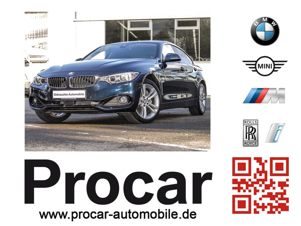 BMW 440i xDrive Gran Coupe Sport Line Innovationsp., Jahr 2016, petrol