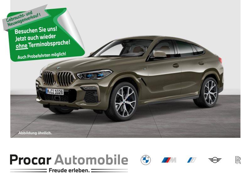 BMW X6 M50i 120.459 € UPE,50 JAHRE BMW BANK AKTION AB 0,01% FINANZIERUNG!!, Jahr 2020, Benzin