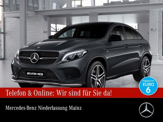 Mercedes-Benz GLE 450 AMG Cp. 4M AMG Fondent Airmat Stdhzg Pano, Jahr 2016, Benzin