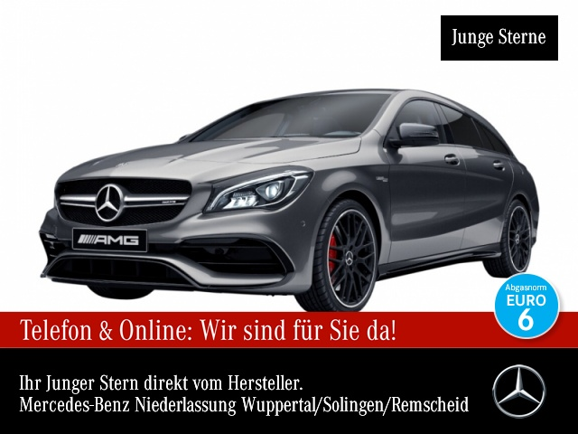 Mercedes-Benz CLA 45 4MATIC Shooting Brake Sportpaket Navi LED, Jahr 2017, Benzin
