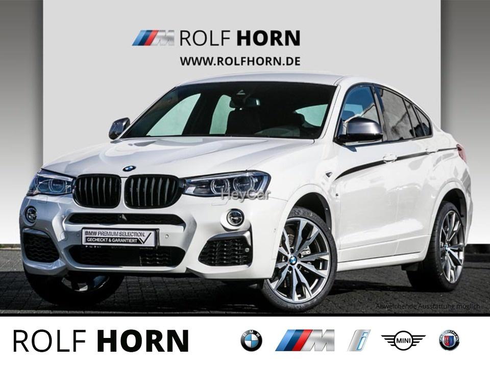 BMW X4 M40i M Sportpaket Navi HUD LED RKam 20'' M, Jahr 2018, Benzin
