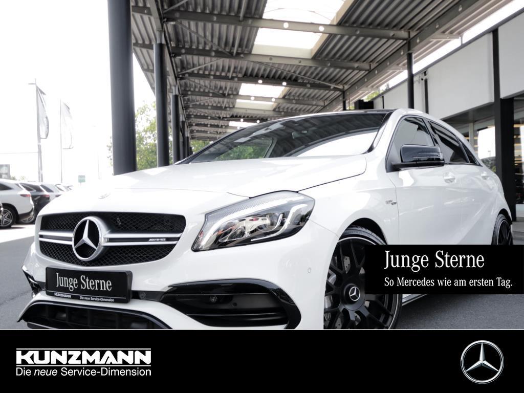 Mercedes-Benz A 45 AMG 4M Comand LED Panorama PerformanceAbGas, Jahr 2018, Benzin