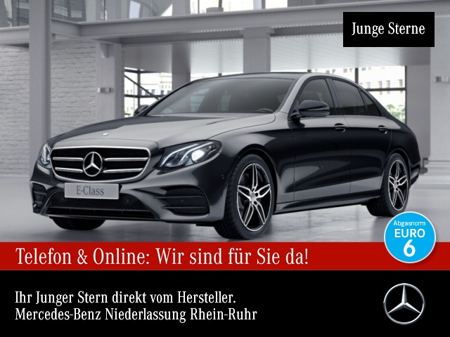 Mercedes-Benz E 220 d AMG Pano LED Night Kamera Totwinkel PTS 9G, Jahr 2016, Diesel