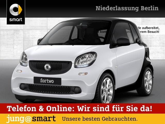 smart fortwo coupé 52kW passion cool&Audio SHZ Komfort, Jahr 2017, Benzin