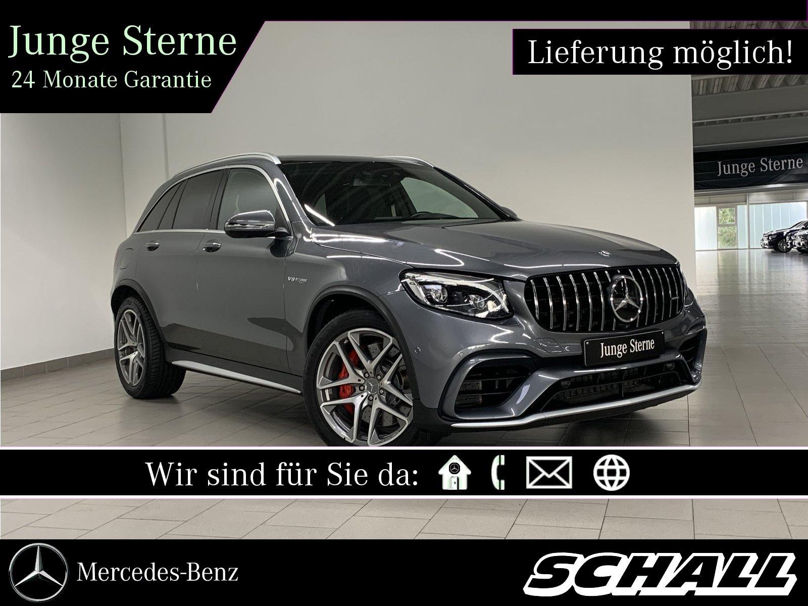 "Mercedes-Benz GLC 63 S 4M+ AMG PANO+DISTR+AHK+20""AMG+LED+360°, Jahr 2018, petrol"
