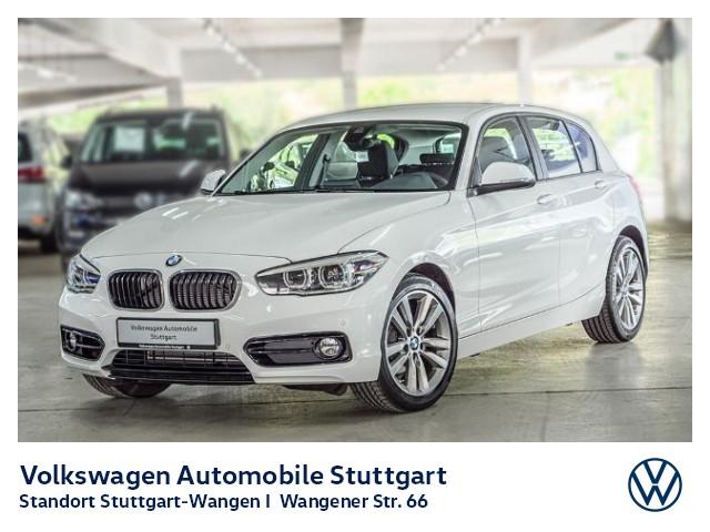 BMW 118 i Sport Line Automatik Navi LED, Jahr 2019, Benzin