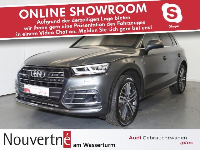 Audi Q5 55 TFSI e quattro S-Line Matrix Tour, Jahr 2020, Hybrid