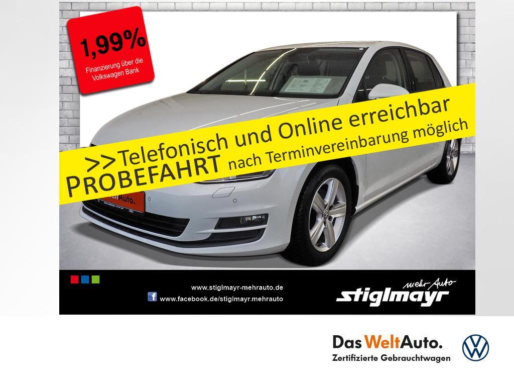 Volkswagen Golf VII Comfortline 1.6 TDI Parkpilot Tempomat, Jahr 2014, Diesel