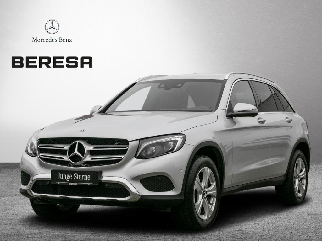 Mercedes-Benz GLC 300 4M Exclusive AHK Kamera LED ILS HUD 18'', Jahr 2018, petrol