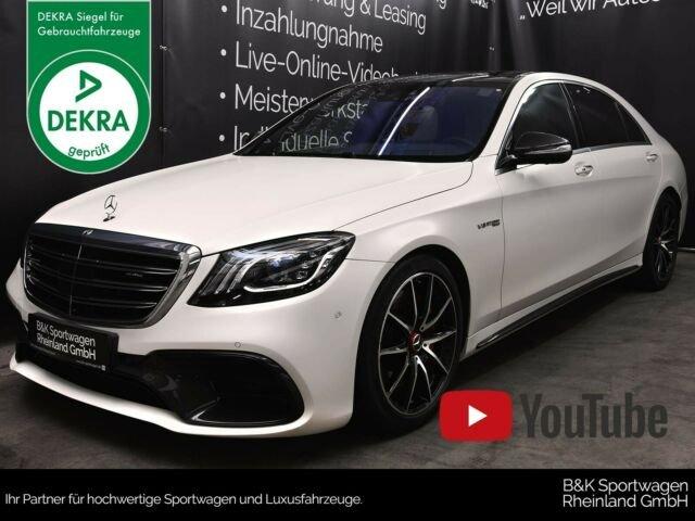 Mercedes-Benz S63 AMG L ab 1.063,00 /mtl., Jahr 2018, Benzin