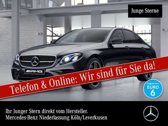 Mercedes-Benz E 43 AMG 4M Wide.HuD.COMAND.Fahrass.Multi.Night, Jahr 2017, Benzin