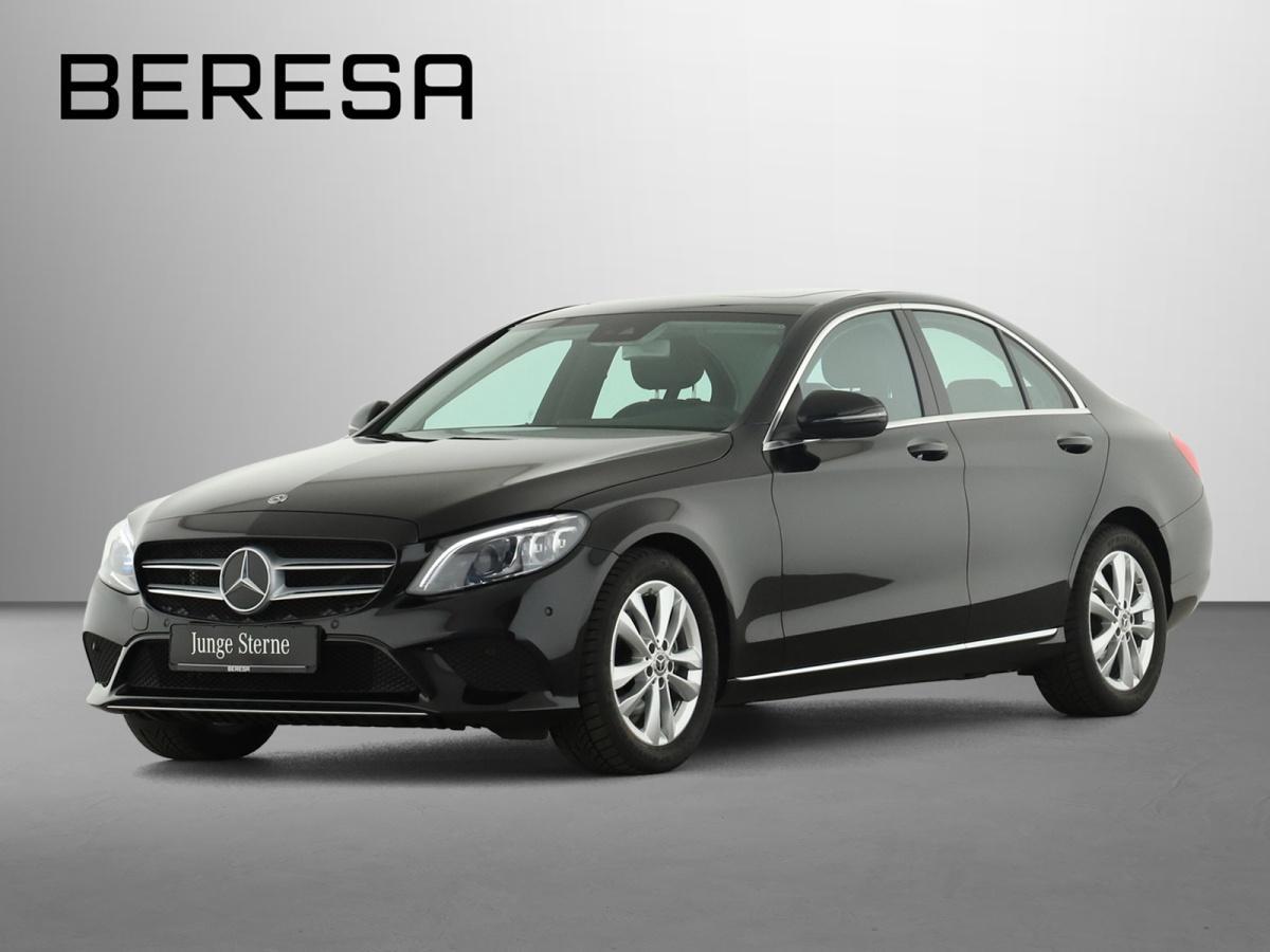 Mercedes-Benz C 200 Avantgarde Spur-P. LED Kamera Navi, Jahr 2019, Benzin