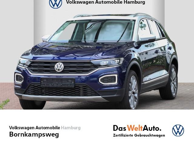 Volkswagen T-Roc 1,5 TSI Comf. IQ.DRIVE LED/NAVI/AHK/PANO, Jahr 2019, Benzin