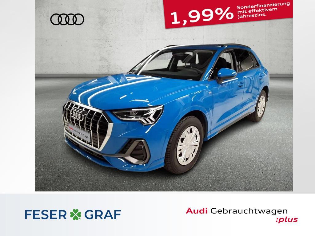 Audi Q3 S line quattro 35 TDI ACC/Alu18/PDC+/LED, Jahr 2020, Diesel