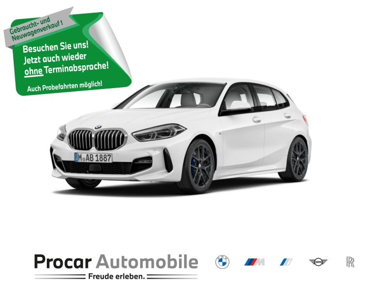 BMW 118i M Sport Head-Up LED WLAN Tempomat Shz PDC, Jahr 2020, Benzin