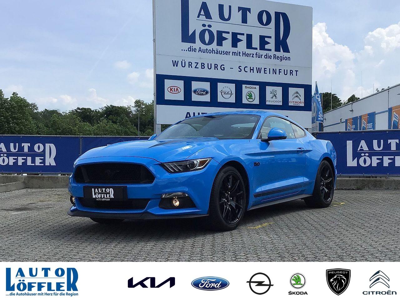 Ford Mustang GT 5.0 l - Navi RFK SHZ Klima Klima, Jahr 2017, Benzin