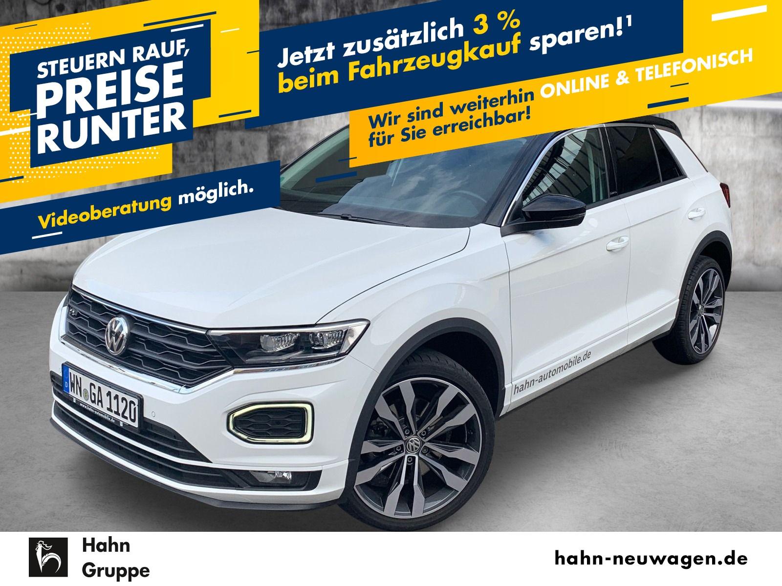 "Volkswagen T-Roc ""UNITED"" R-LINE ""EXTERIEUR""19"" SUZUKA LED AHK ACTIVE INFO DISPLAY NAVI, Jahr 2020, petrol"