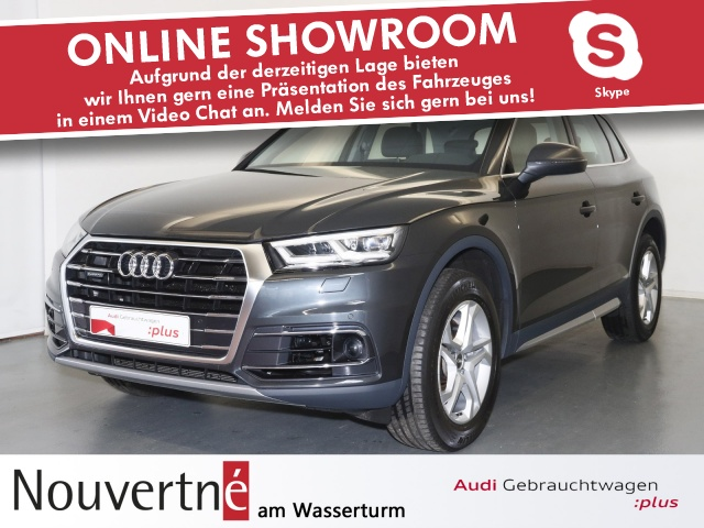 Audi Q5 2.0 TDI quattro design AHK ACC NaviPlus, Jahr 2017, Diesel