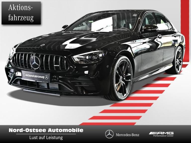 Mercedes-Benz AMG E 53 4m+ NIGHT PANO HUD 360° MULTIBEAM BURM, Jahr 2021, Benzin