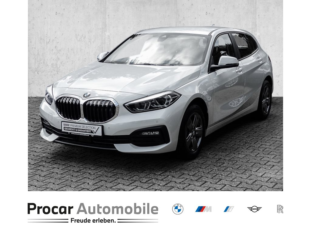 BMW 116d AUTOMAT.+NAVI+LED+FAHRASSIS+DAB+WIRL.CHARG.+WLAN+Finab0,01%, Jahr 2021, Diesel