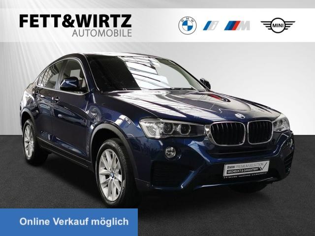 BMW X4 xDrive20d Navi HUD Xenon eGSD RKamera SHZ PDC, Jahr 2016, Diesel