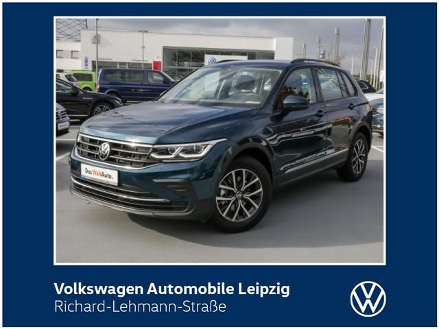 Volkswagen Tiguan Life 1.5 TSI OPF *LED*Navi*DAB*Lane Assist*, Jahr 2021, Benzin