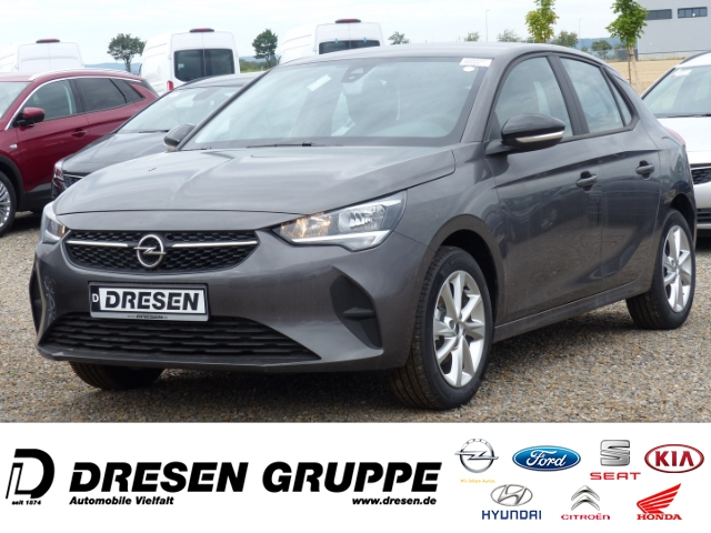 Opel Corsa F Edition 1.2/Parkpilot/Tempomat/Spurhalteassistent/Bluetooth, Jahr 2020, Benzin