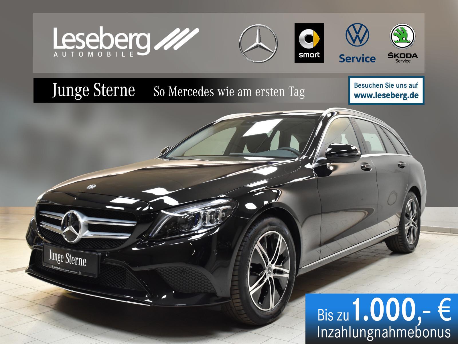 Mercedes-Benz C 180 T Avantgarde/MULTIBEAM/Navi/9G/Totwinkel, Jahr 2019, Benzin