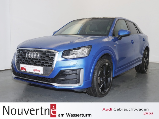 """Audi Q2 1.4 TFSI 2x S-Line OpenSky 19"""" Rotor, Jahr 2017, petrol"""