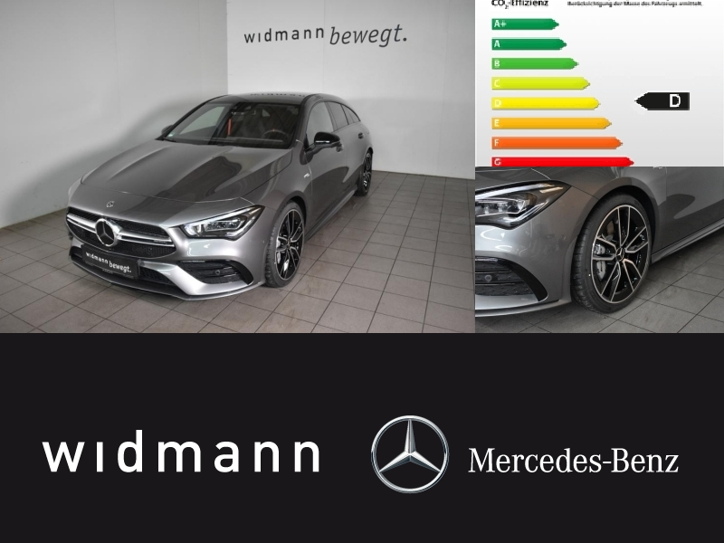 Mercedes-Benz CLA 35 AMG 4M SB AMG*MBUX*NightP*Pano*Multibeam*, Jahr 2019, petrol