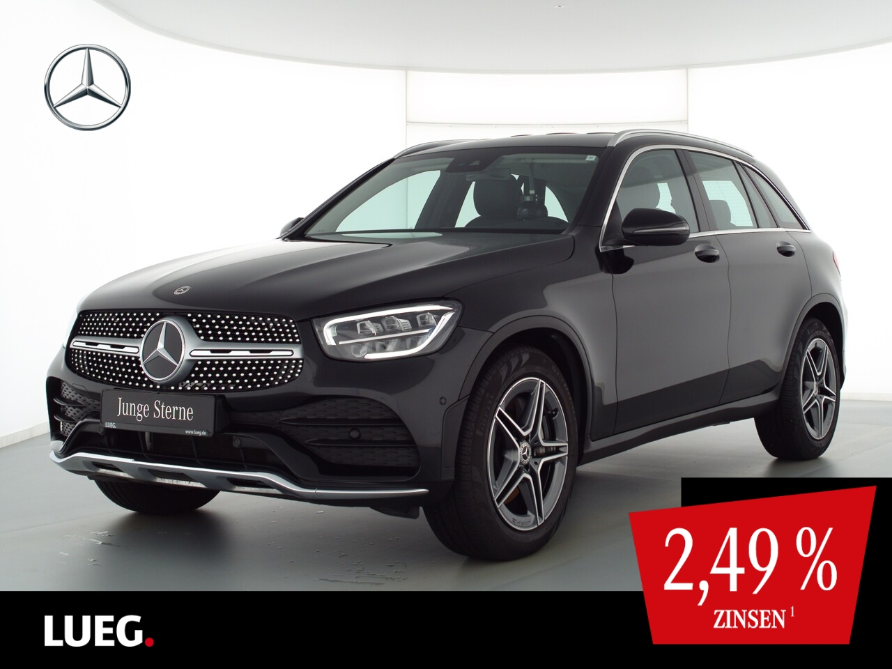 Mercedes-Benz GLC 200 d 4M AMG+MBUX+LED+SpurP+Distr+EHeckk+RFK, Jahr 2021, Diesel