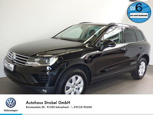 """Volkswagen Touareg 3.0 V6 TDI DSG 4M """"RNS 850"""" Xenon Tempo USB Navi Parkp. Kamera Sitzh., Jahr 2016, diesel"""