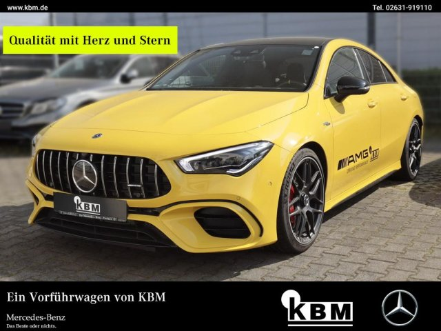 "Mercedes-Benz CLA 45 S 4M+ NAVI-PREMIUM°360°Alu-19""°HEAD-UP°, Jahr 2019, petrol"