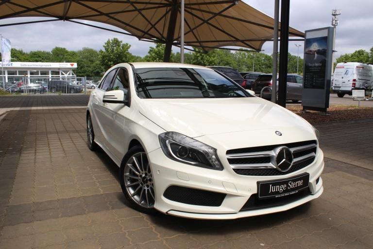 Mercedes-Benz A 200 CDI AMG Navi+Sitzheizung+Bi-Xenon+Tempomat, Jahr 2013, Diesel