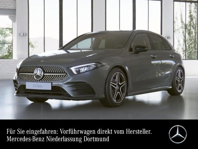 "Mercedes-Benz A 180 AMG Sportpaket Night AMG 18"" LED PTS, Jahr 2020, petrol"