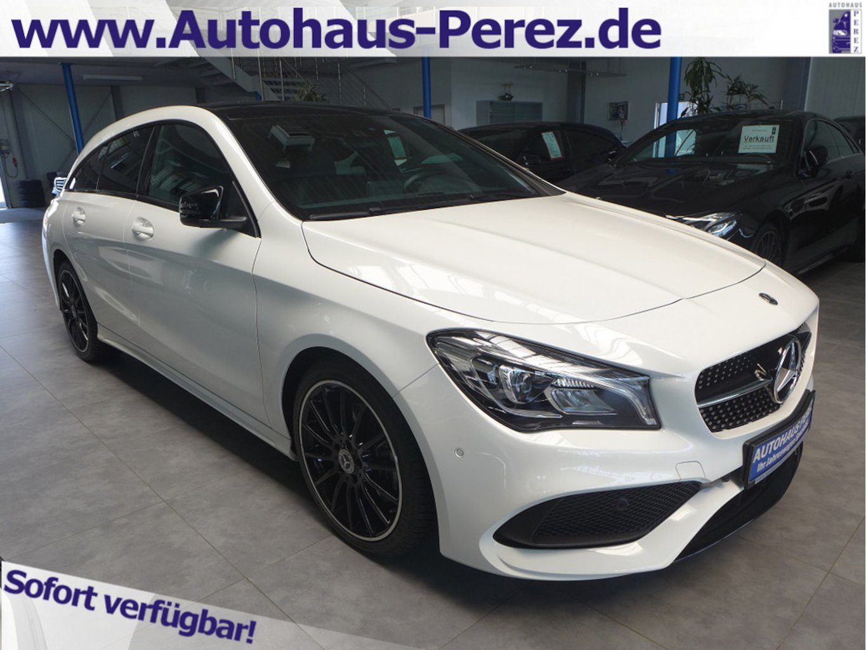 Mercedes-Benz CLA 220 Shooting Brake 4M AMG NIGHT-PANO-HIFI, Jahr 2018, Benzin