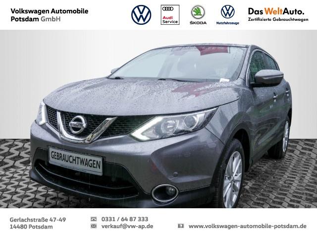 Nissan Qashqai 1.2 DIG-T Acenta 4x2 Navi Klima, Jahr 2014, Benzin