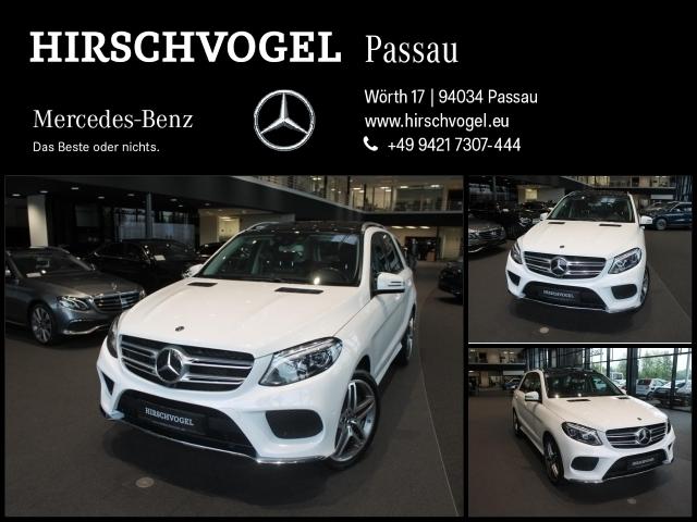 Mercedes-Benz GLE 400 4M AMG-Line/EXCLUSIVE+AIRMATIC+AHK+DISTR, Jahr 2017, Benzin