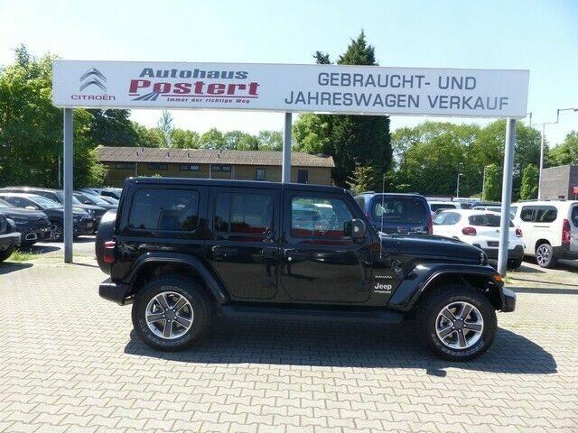 Jeep Wrangler 2.0 T-GDI JL Unlimited Sahara MY19 (EUR, Jahr 2020, Benzin
