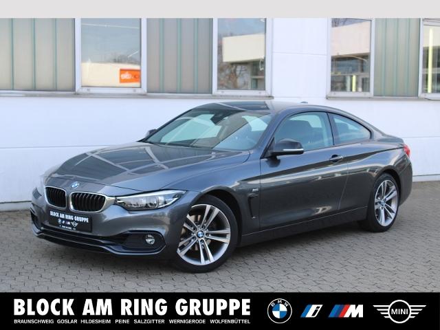 BMW 420i Coupé Lines LMR Navi HiFi PDC Sportsitze, Jahr 2018, Benzin