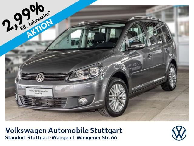 Volkswagen Touran CUP 1.6 TDI Navi PDC SHZ GRA, Jahr 2015, Diesel