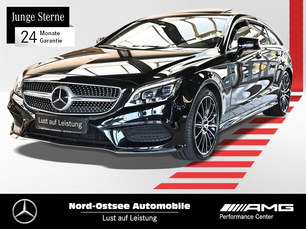 Mercedes-Benz CLS 350 SB d 4M AMG Comand Standhzg Distro SHD, Jahr 2017, Diesel