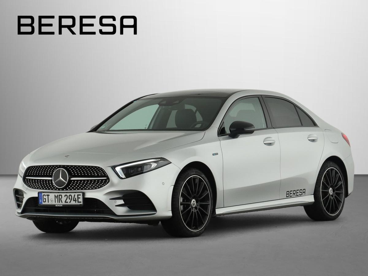 Mercedes-Benz A 250 e Limousine AMG Burmester Fahrassist., Jahr 2020, Hybrid