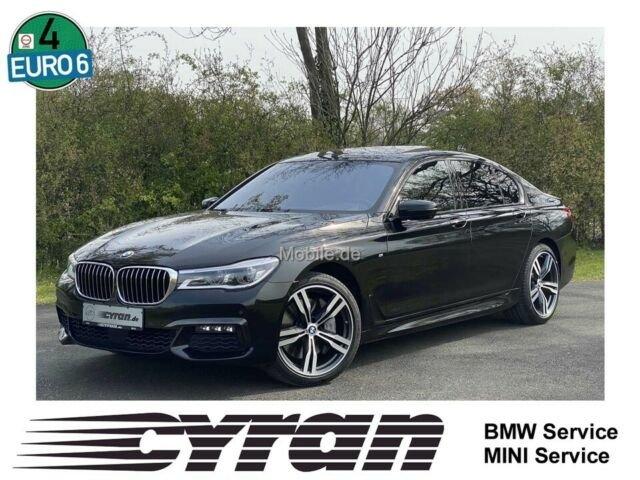 BMW 750d xDrive M Sportpaket HeadUp Laser Massage, Jahr 2017, Diesel