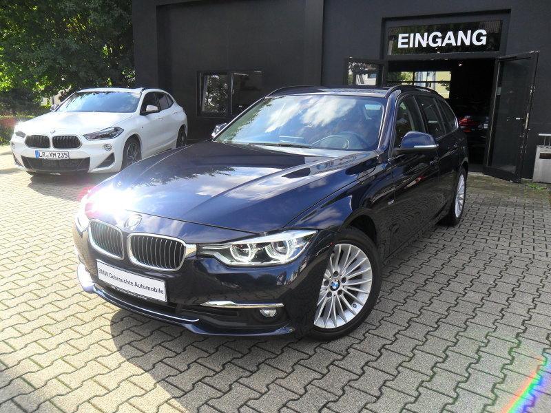 BMW 320d Touring Luxury Line EURO6 Navi Prof LED Head-Up AHK Komfortzugang Harman/Kardon Sportsitze, Jahr 2015, diesel